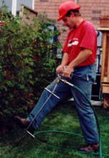 Fertilizing Ontario's lawns.